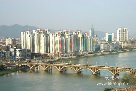 揭阳市区(北河大桥)_揭阳旅游图片